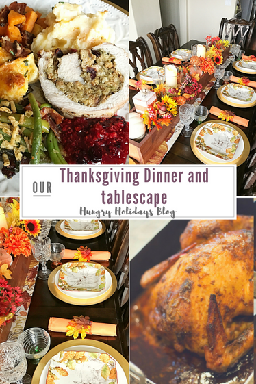 Thanksgiving Table Setting, and Dinner ideas!