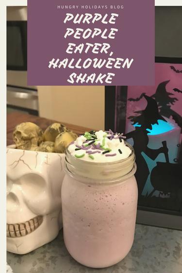 Purple People EaterHalloween Shake