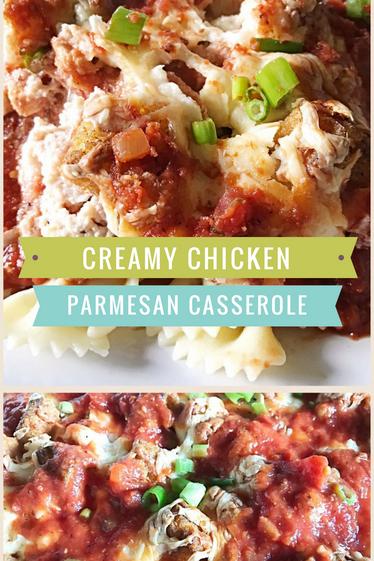 Creamy Chicken Parmesan Casserole
