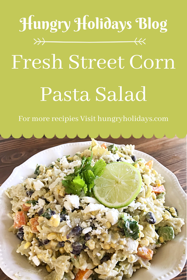 Fresh Street Corn Pasta Salad