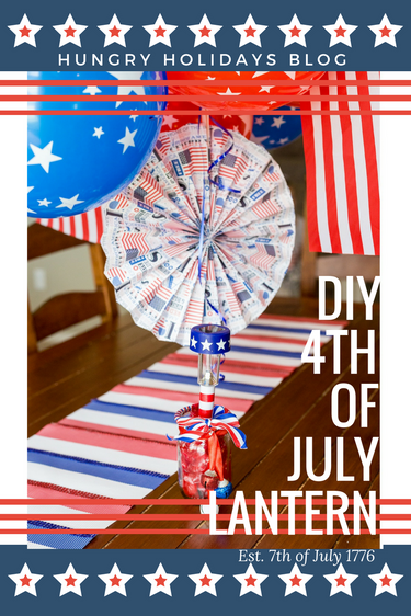 4th of July Patriotic Lanterns