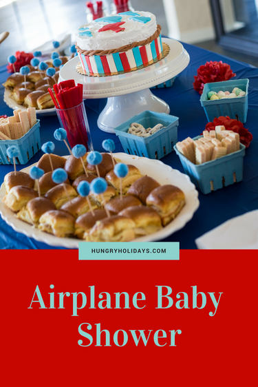 Kristy's Baby Shower | Airplane Themed Baby Shower