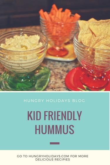 Kid Friendly Hummus