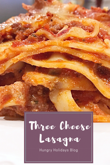 Three Cheese Lasagna for a Crowd!