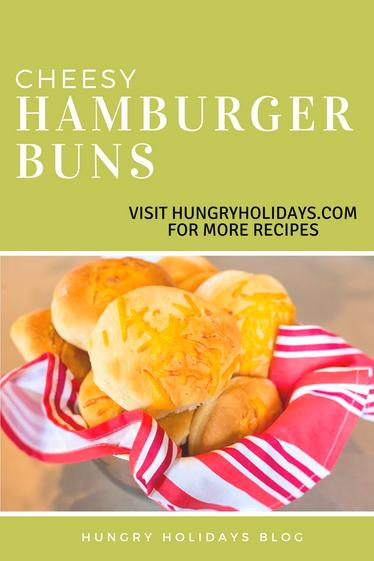 Cheesy Hamburger Buns