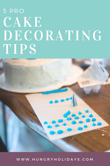 4 Ingredient Frosting | 5 Pro Cake Decorating Tips