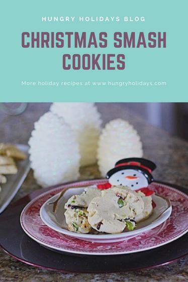 Christmas Smash Cookies
