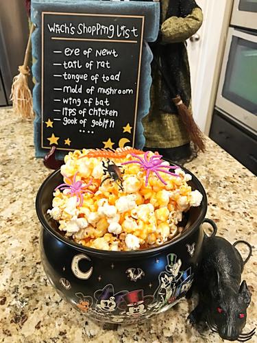 GooeyHalloween Popcorn