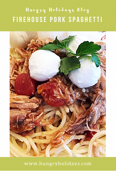 Firehouse Pork Spaghetti