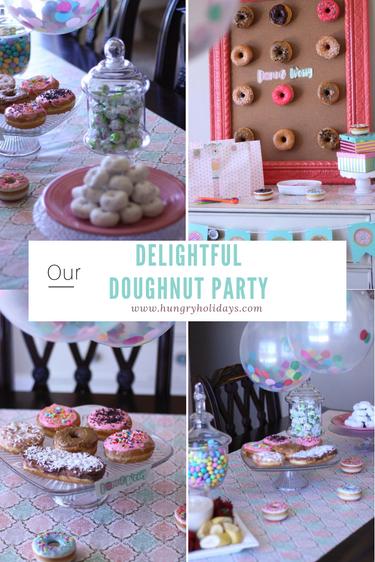 Delightful Doughnut Party