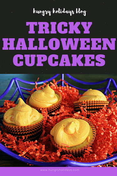 Tricky Halloween Cupcakes