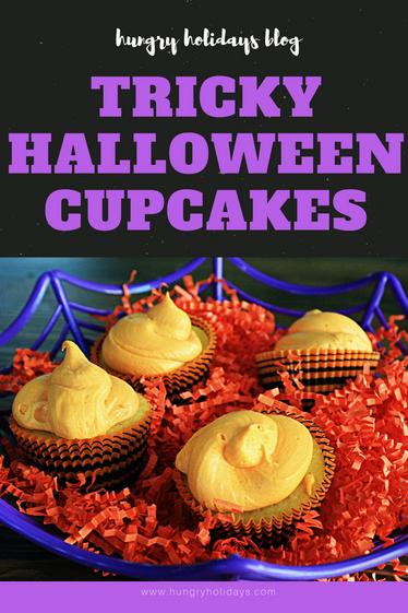 Tricky Halloween Cupcakes