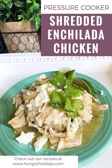 Shredded Enchilada Chicken
