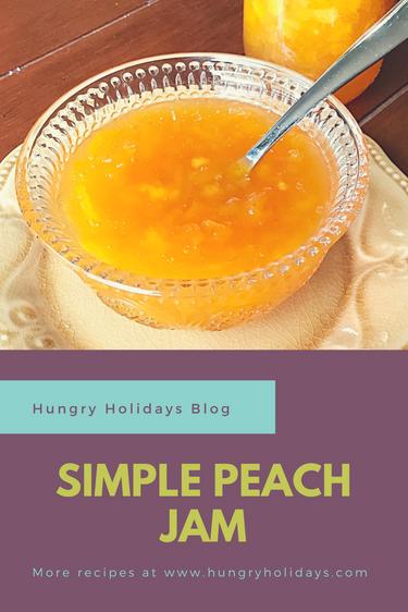 Simple Peach Jam