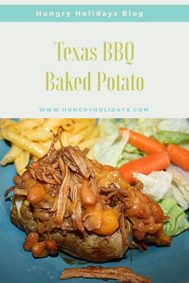 Texas BBQ Baked Potato