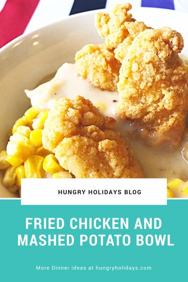 Fried Chicken Bowl