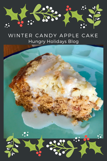 Winter Candy Apple Cake