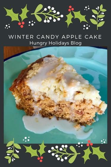 Winter Candy Apple Cake