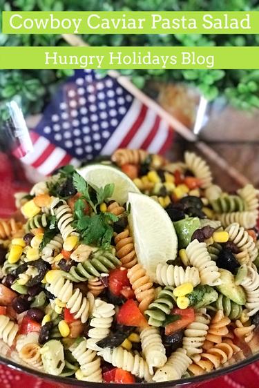 Cowboy Caviar Pasta Salad
