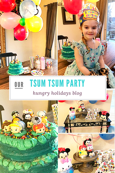 Tsum Tsum Birthday Party