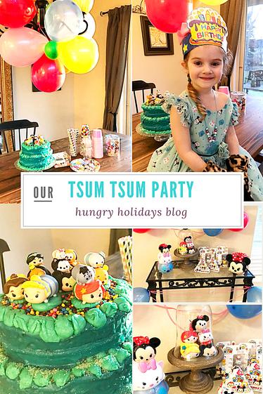 Tsum Tsum Birthday Party