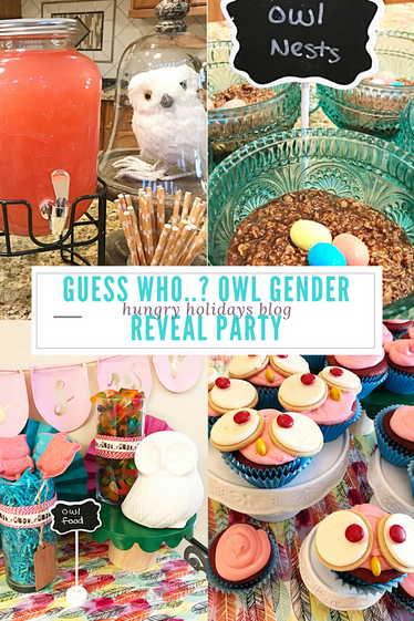 Guess Who..? Owl Gender Reveal Party!