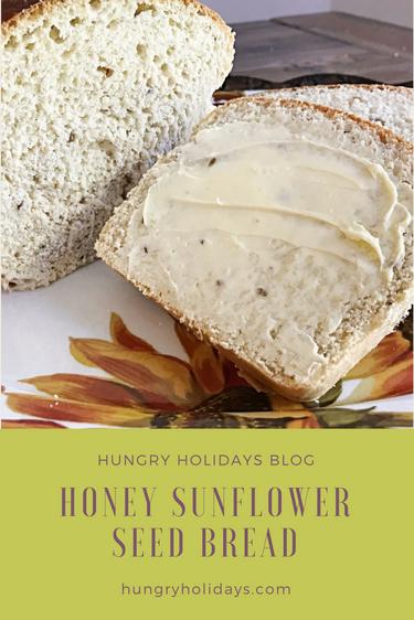 Honey Sunflower Seed Bread