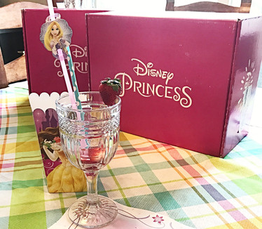 Disney Princess Pley Boxes! Pizza and Princesses!
