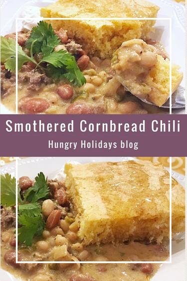 Smothered Cornbread Chili