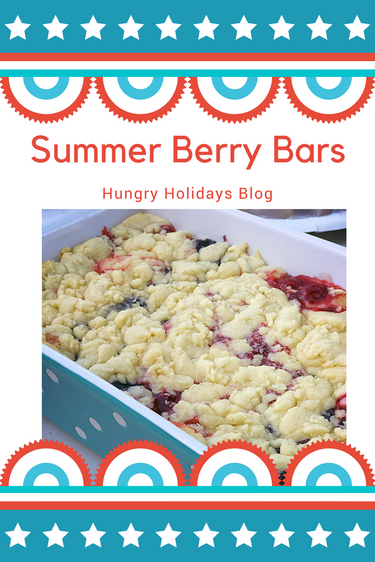 Summer Berry Bars