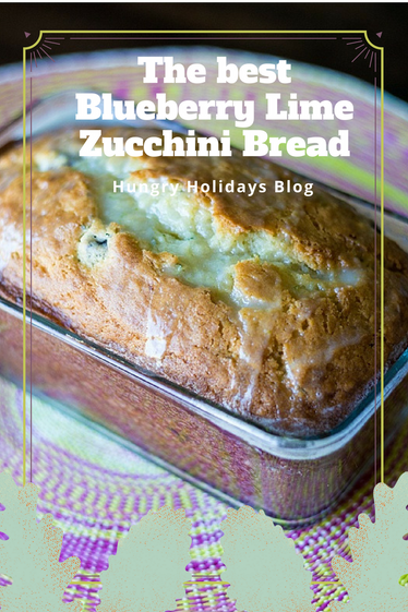 The BEST Blueberry Lime Zucchini Bread You'll Ever Have