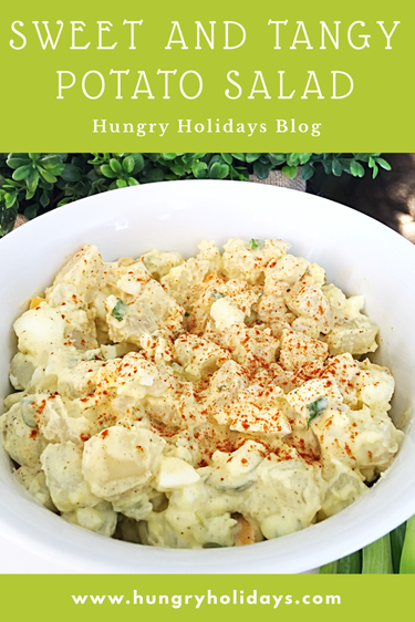 Sweet and Tangy Potato Salad