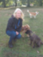Faith the dog trainer