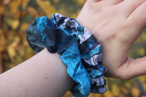 Mixed Scrunchie Two Pack - Blent and Bluichtie Roch