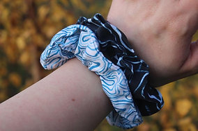 Mixed Scrunchie Two Pack - Reerie and Bennin