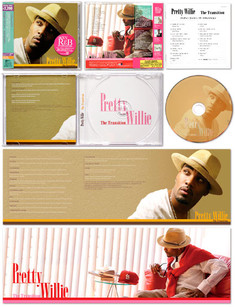 """PRETTY WILLIE / The Transition"" CD JACKET"