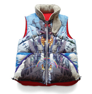 is-ness 2010A/W down vest