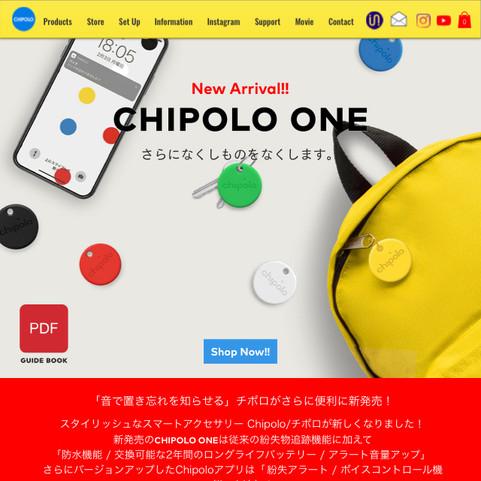 WEB DESIGN: chipolo