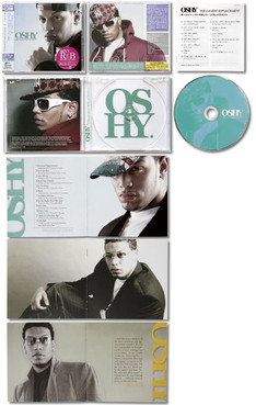 """OSHY / Permanent Replacement"" CD JACKET"