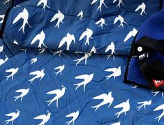 "HELLY HANSEN ""BIRD"" textile 2011 A/W"
