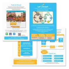 """""""350.org"""" leaflet design"""