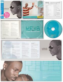 "KAY B ""Look No Further"" CD jacket"