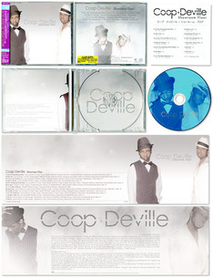 """coop deville / showroom floor"" CD JACKET"