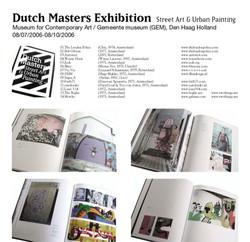 "06.11.09 ""Dutch Masters"" catalogue"