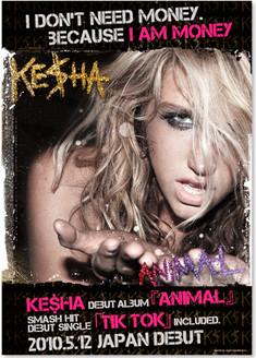 'KE$HA' poster