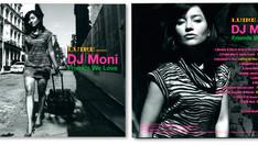 "LUIRE presents ""DJ Moni / Friends We Love"" CD JACKET"
