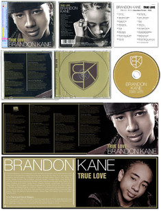 """BRANDON KANE / true love"" CD JACKET"