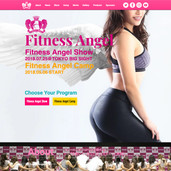 """Fitness Angel show"" web"