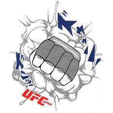 """""""UFC x BEAMS"""" artwork 01"""