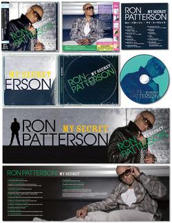 """RON PATTERSON """"My Secret"""" CD jacket"""